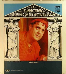 I get more chuckles than Zero Mostel