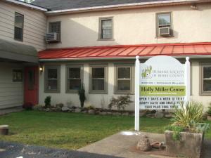 The former Holly Miller Center for Animal Welfare, Douglassville